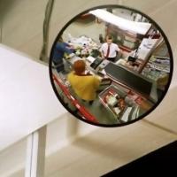 Сферическое круглое зеркало K-400
