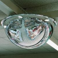 Купольные зеркала на потолок D = 800х360