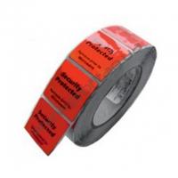 Защитная этикетка РЧ для замороженных товаров (красная)